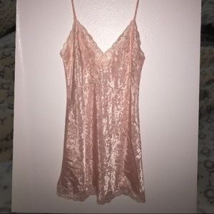 Victoria's Secret Polyester Lace Nightgown Dress